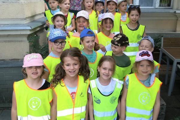 Przedszkolaki w Domu Skandynawskim